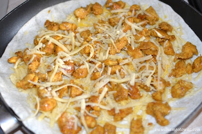 Quesadillas z kurczakiem i serem