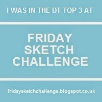 top 3 bij Friday Sketch challenge