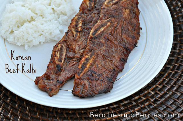 Korean Beef Kalbi