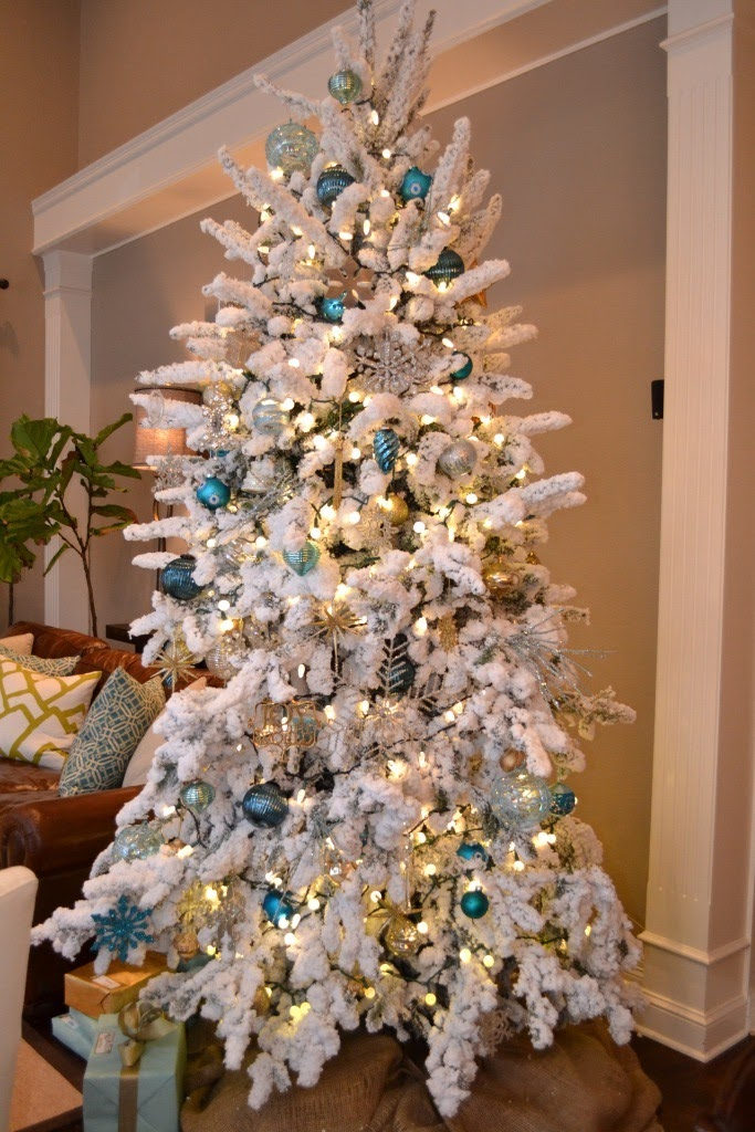 Modern Maizy My Flocked Christmas Tree