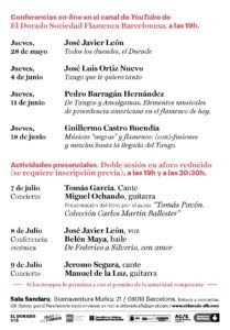 Agenda Mayo / Julio 2020