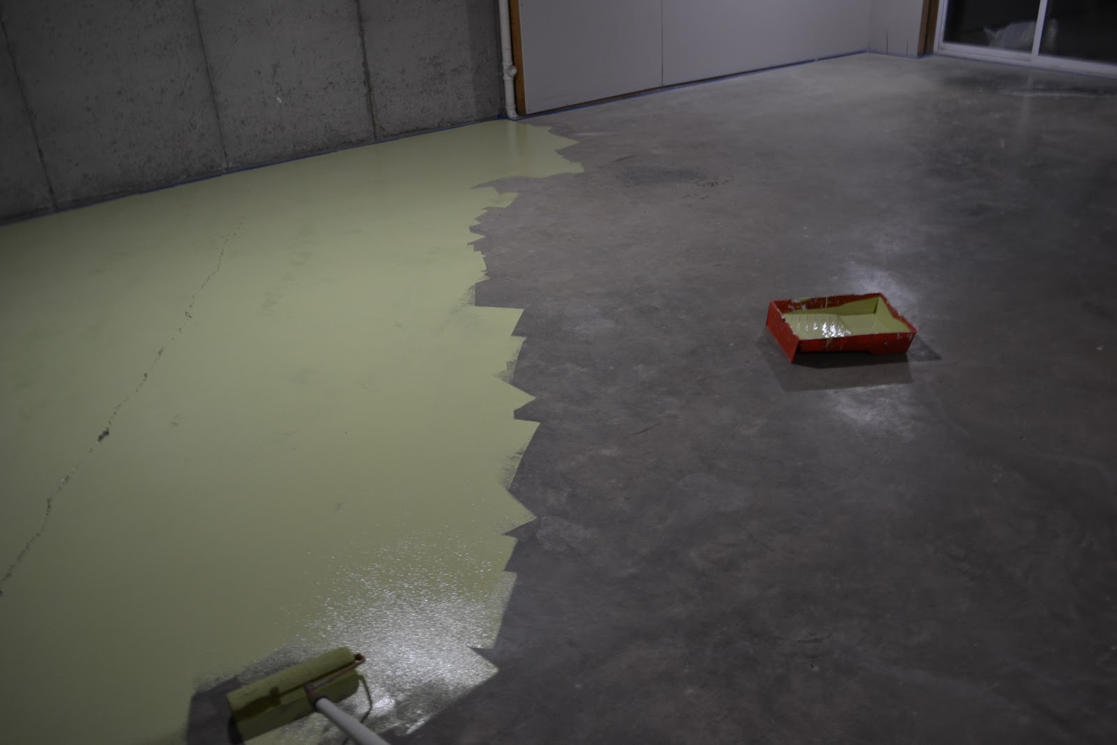 Painted Concrete Floor Sunny Carrier