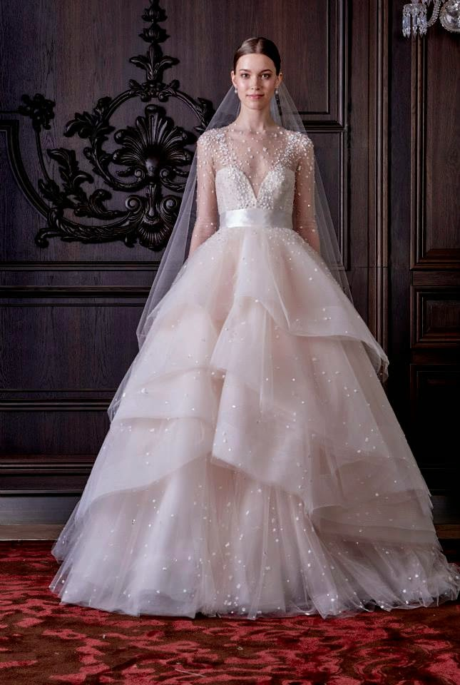 Bridal Wear | Latest Wedding Wear Designs 2016 For Brides By Monique ...