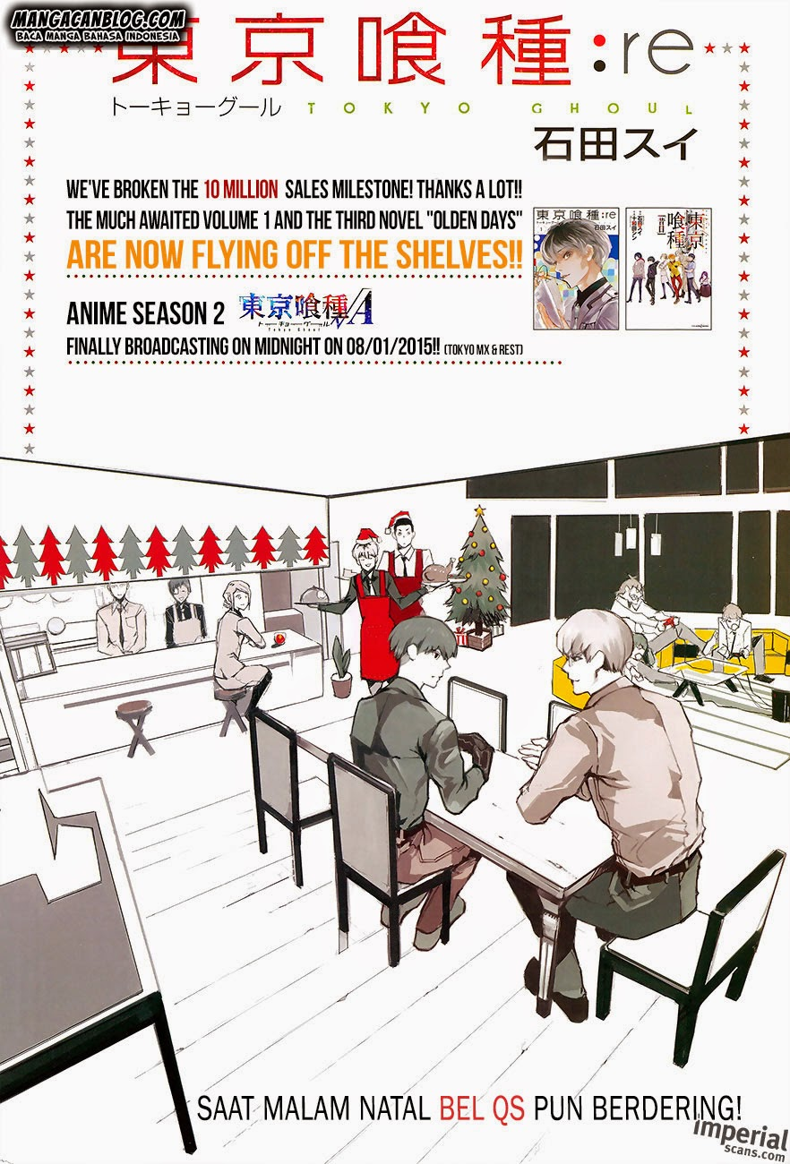 Komik tokyo ghoul re 011 - Harga dari menunggu 12 Indonesia tokyo ghoul re 011 - Harga dari menunggu Terbaru 1|Baca Manga Komik Indonesia