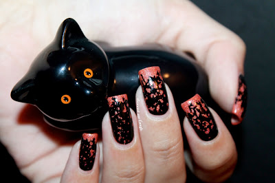 An Halloween Easy Nail Art