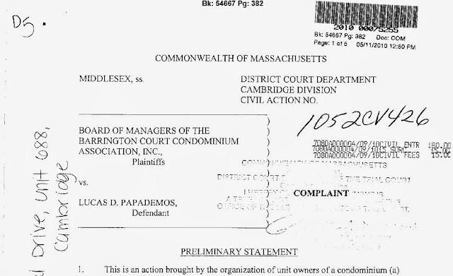 Ο πρώην πρωθυουργός Λ. Παπαδήμος καταδικάστηκε από Αμερικανικό Δικαστήριο για φέσι!