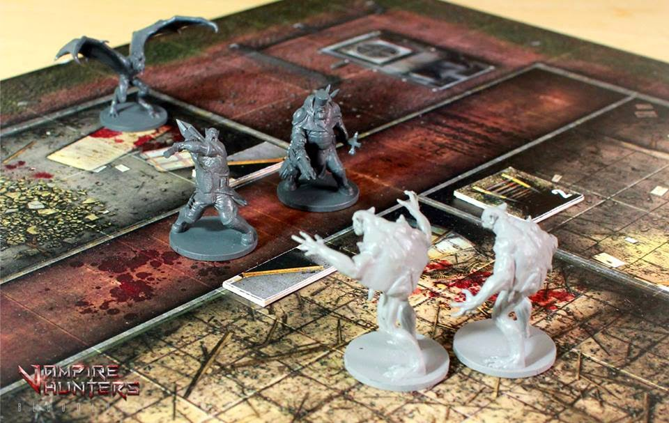 Vampire Hunters Board Game