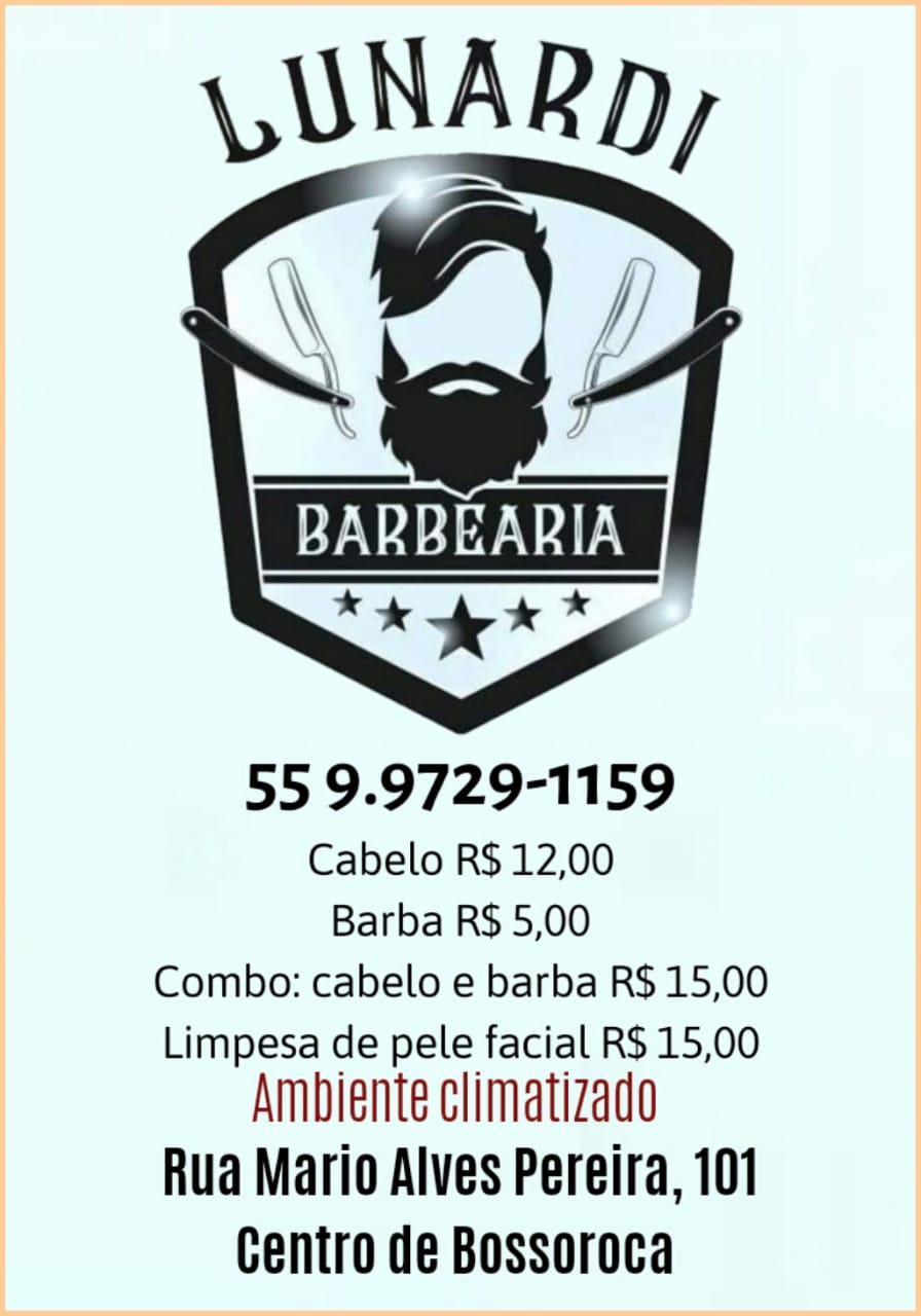 Lunardi Barbearia em Bossoroca