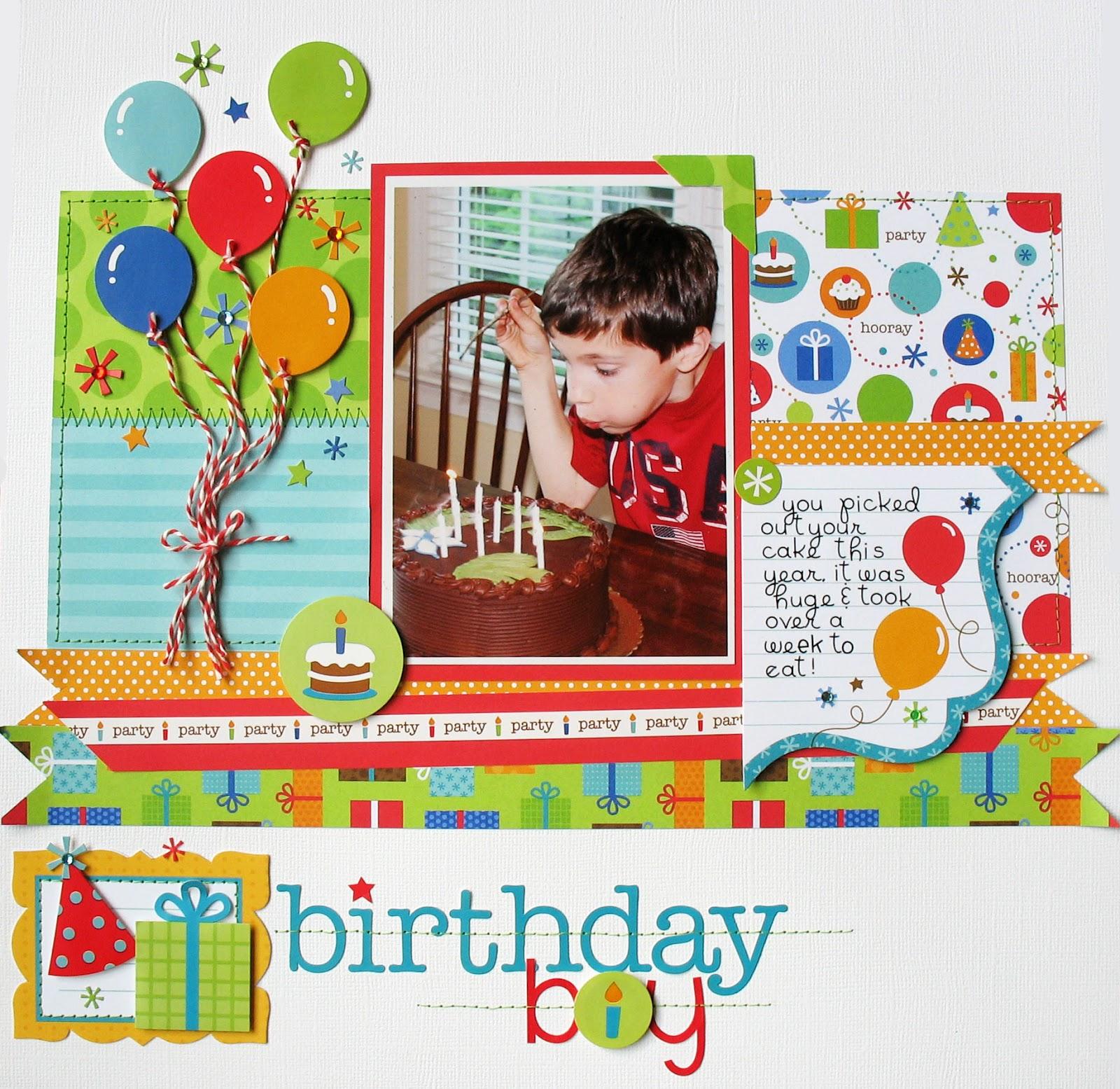 Doodlebug Design Inc Blog: Birthday Celebration By Kathy