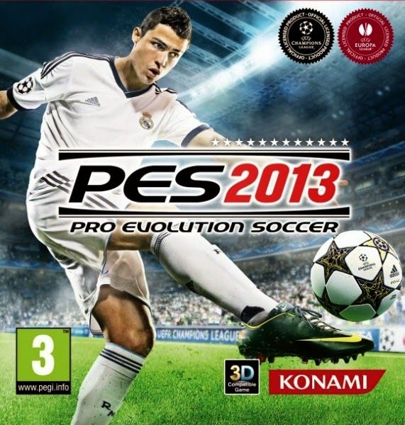 Pro Evolution Soccer (PES) 2013 Cover Image Game