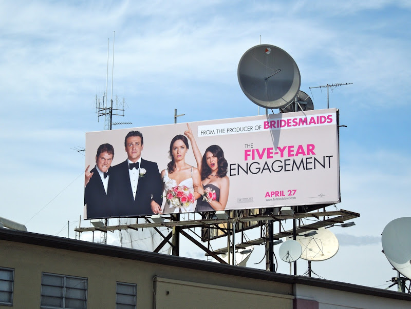 Five Year Engagement billboard