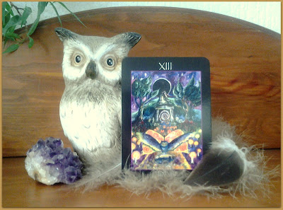 Tarot of the Sidhe,Death, Emily Carding