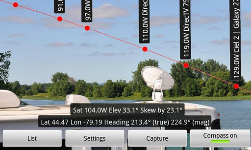 DishPointer Pro apk - satellites finder apps