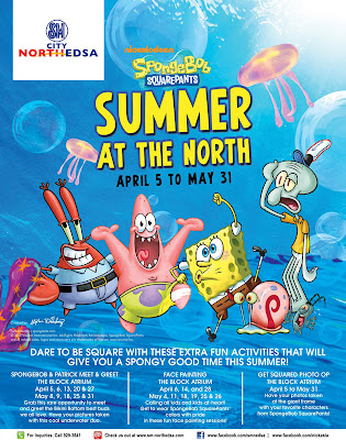 SpongeBob Squarepants Summer at SM North EDSA