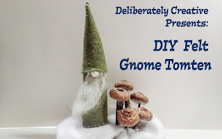 Felt Gnome DIY
