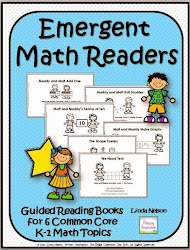 Emergent Reading Books for Common Core Math!