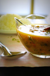 mixed vegetable dal made in a pressure cooker