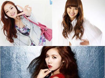 Goo Hara, HyunA e Hyorin