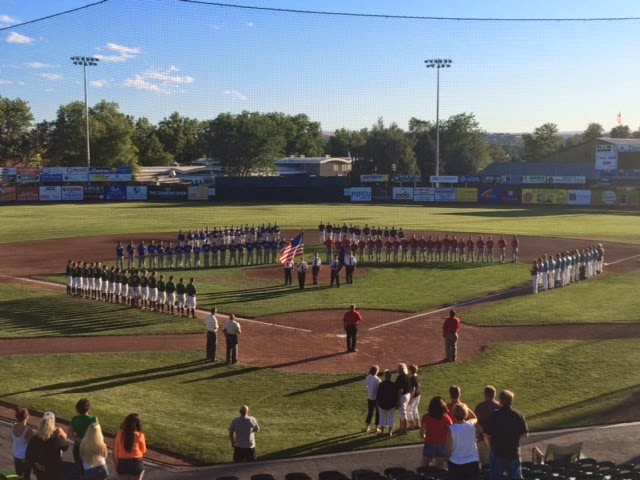 2014 Single A District Championships Opening Ceremony