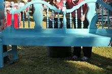 King Bench - Ocean Blue glazed ~ SOLD