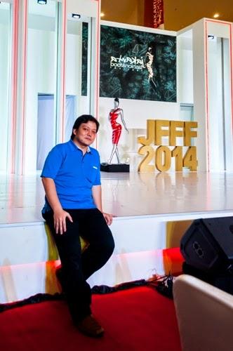 Model Ganteng di JFFF-2014