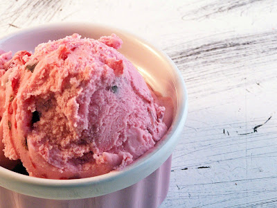 Cherry Pie Ice Cream by Cravings of a Lunatic