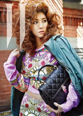 Park Han Byul W Magazine July 2013