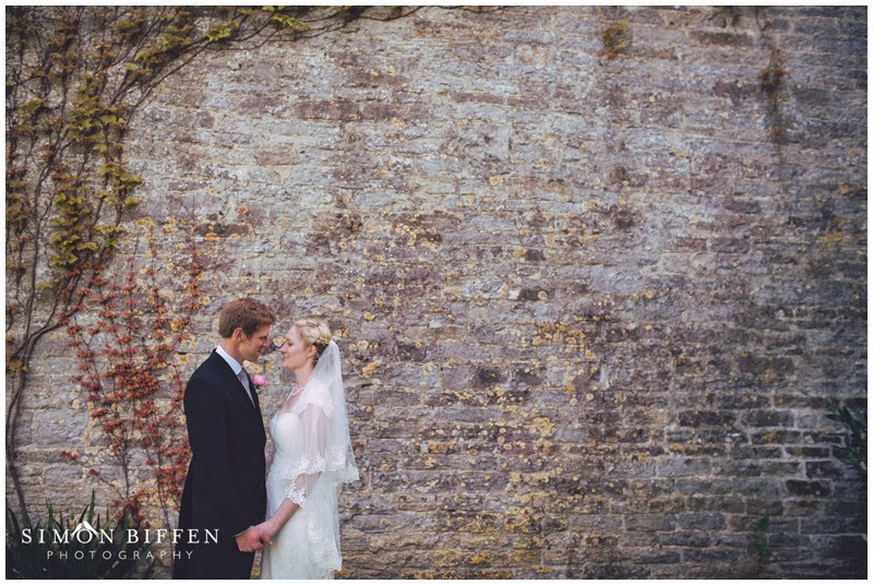 bride and groom portraits somerset