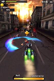 Screenshots of the Death Moto 2 for Android tablet, phone.