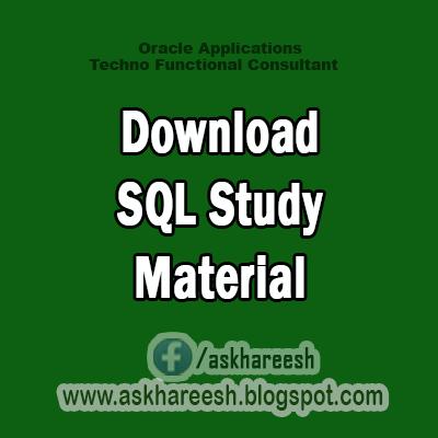 Download SQL Study Material, AskHareesh.blogspot.com