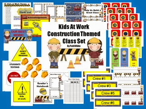 http://www.teacherspayteachers.com/Product/Under-Construction-Theme-Class-Set-Kids-at-Work-146063