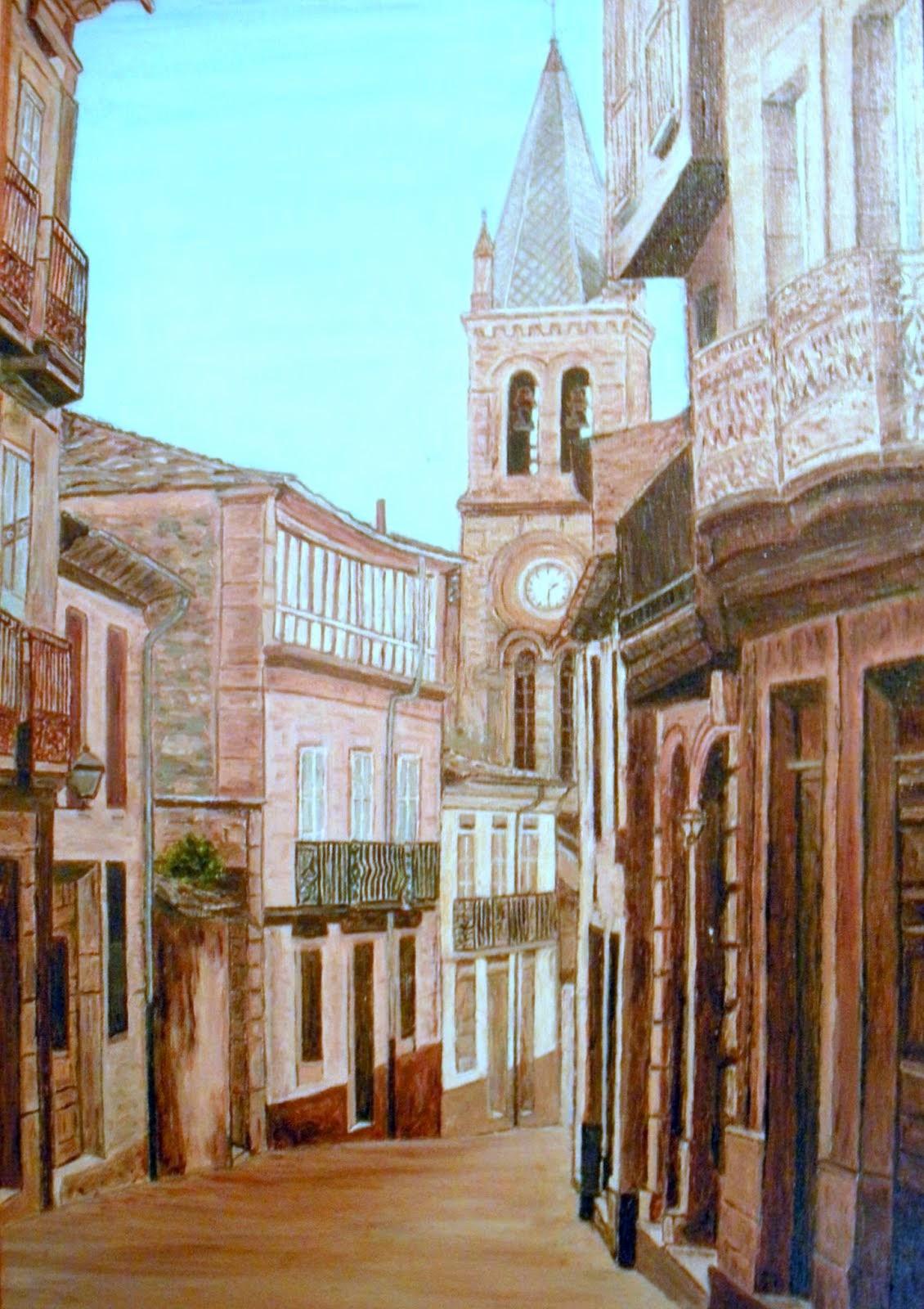 Calle Mayor de Sarria
