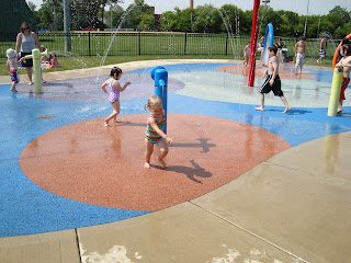 Grayslake Central Park Spray Park
