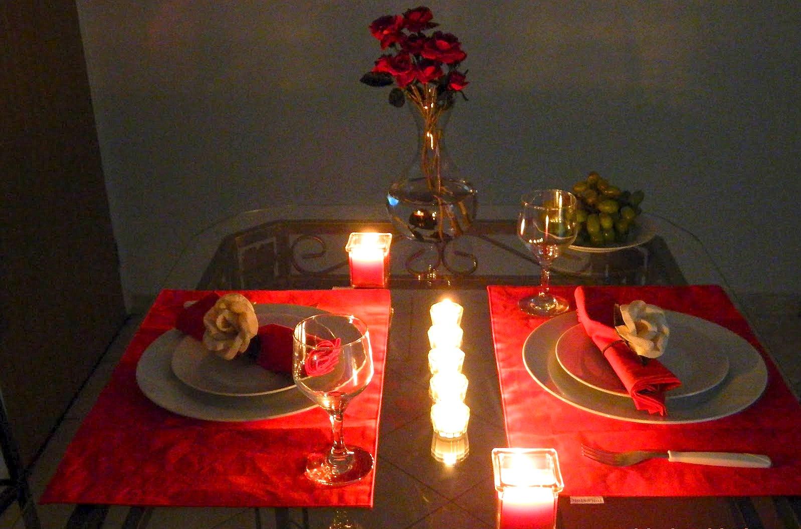 Bem vindos dia dos namorados preparando um ja - Preparar algo romantico en casa ...