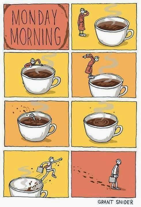 Lunes por la mañana