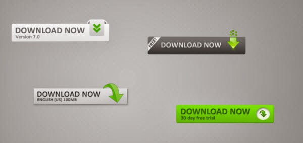 Web 2.0 Download Buttons