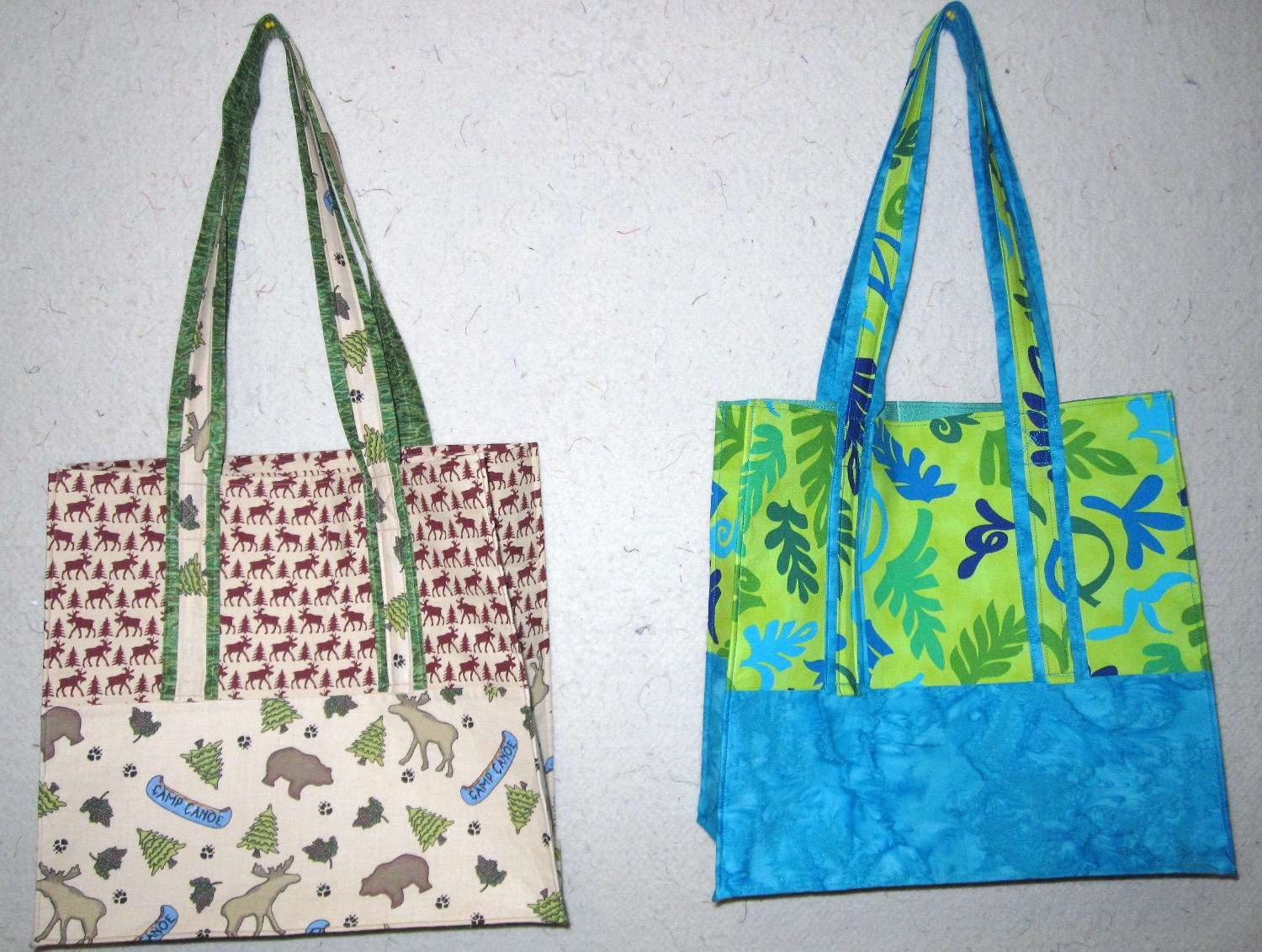 Quilt Inspiration: Free pattern day: Tote bags