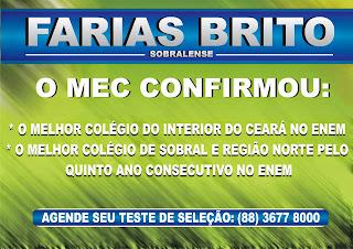 FARIAS BRITO - O MELHOR DE TODOS NO INTERIOR