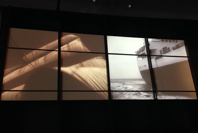 Projections of life at sea at the Maritime Museum of Denmark by Bjarke Ingels Group