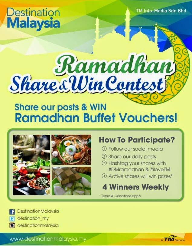 Share Our Posts and Win Ramadhan Buffet Vouchers