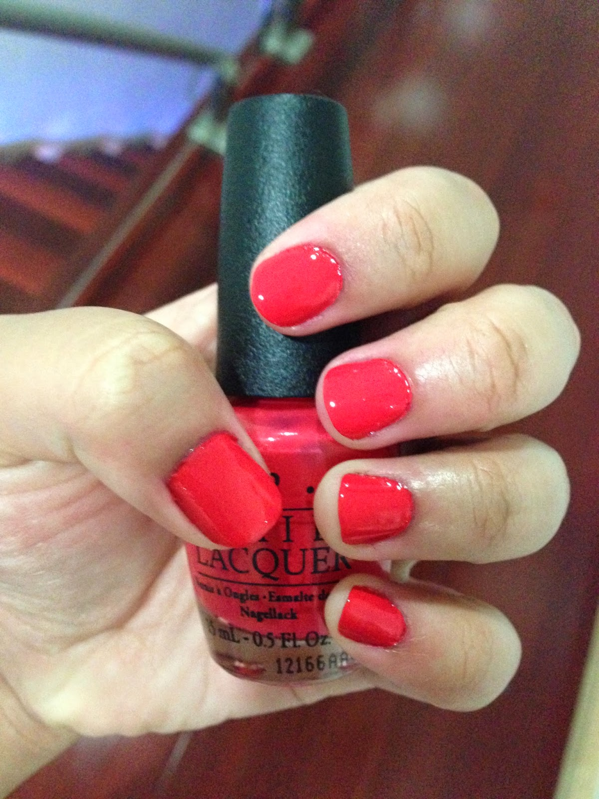 OPI On Collins Ave Swatch