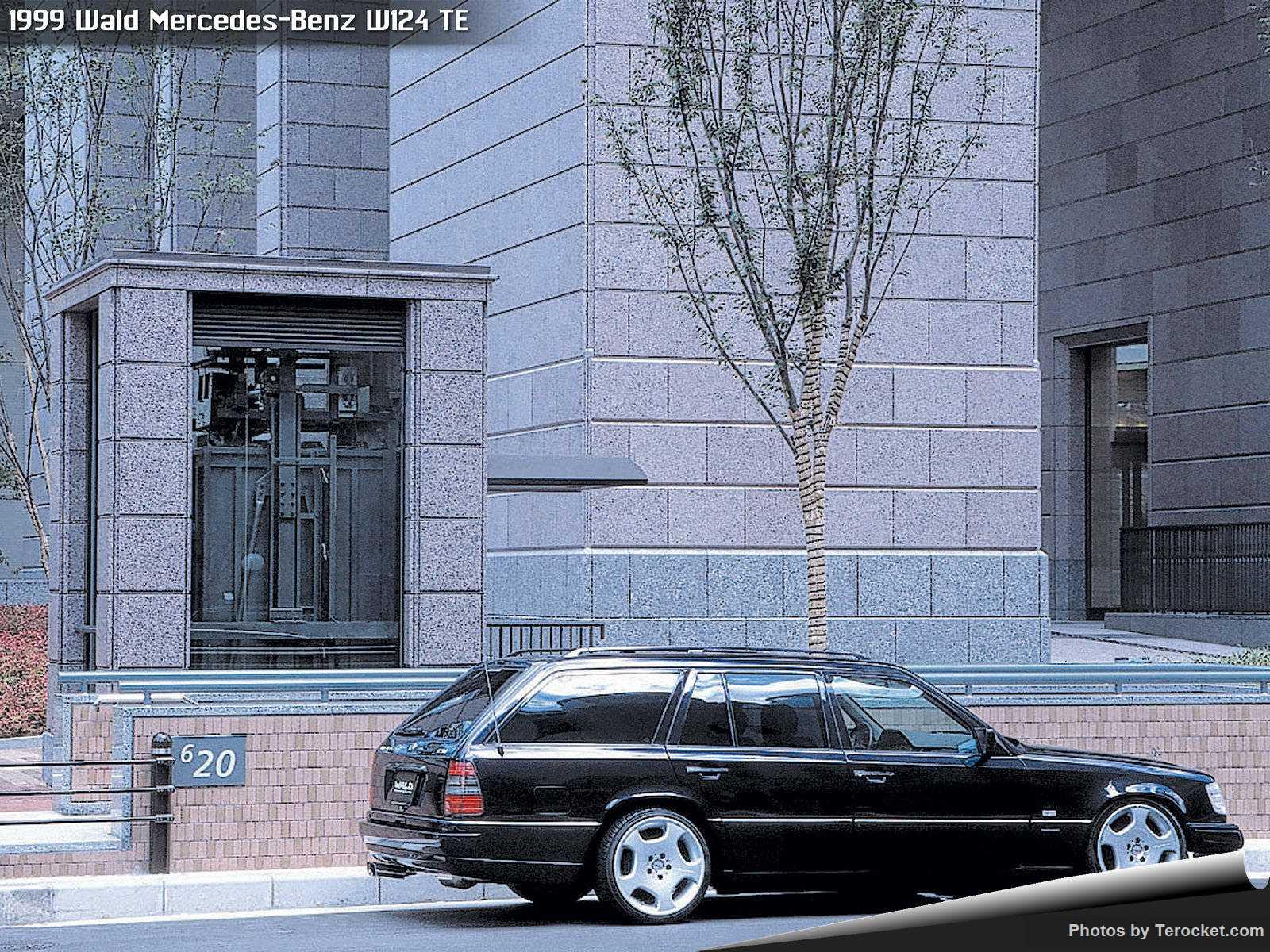 Hình ảnh xe độ Wald Mercedes-Benz W124 TE 1999 & nội ngoại thất