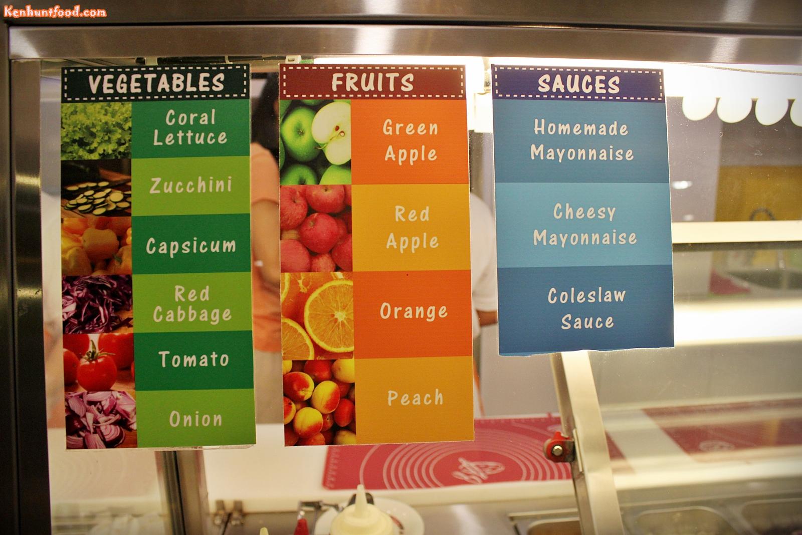 Image Gallery subway vegetables