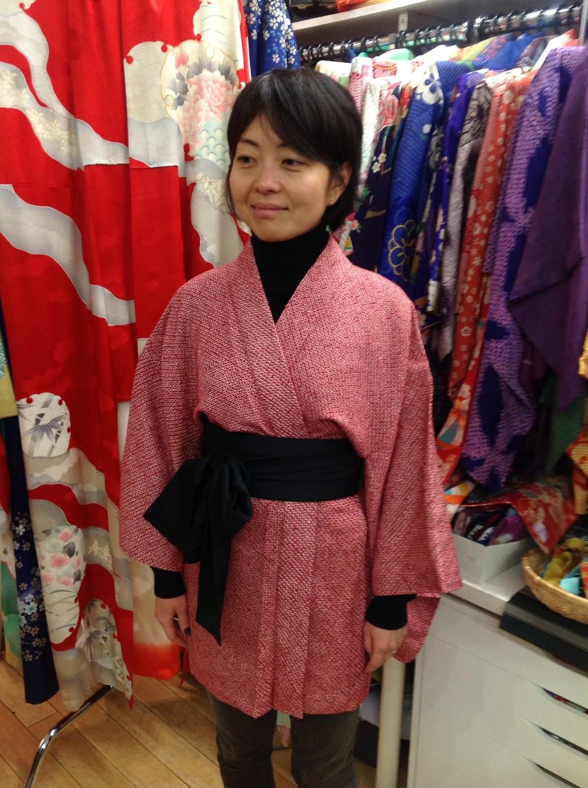 kimono from Kimono House New York