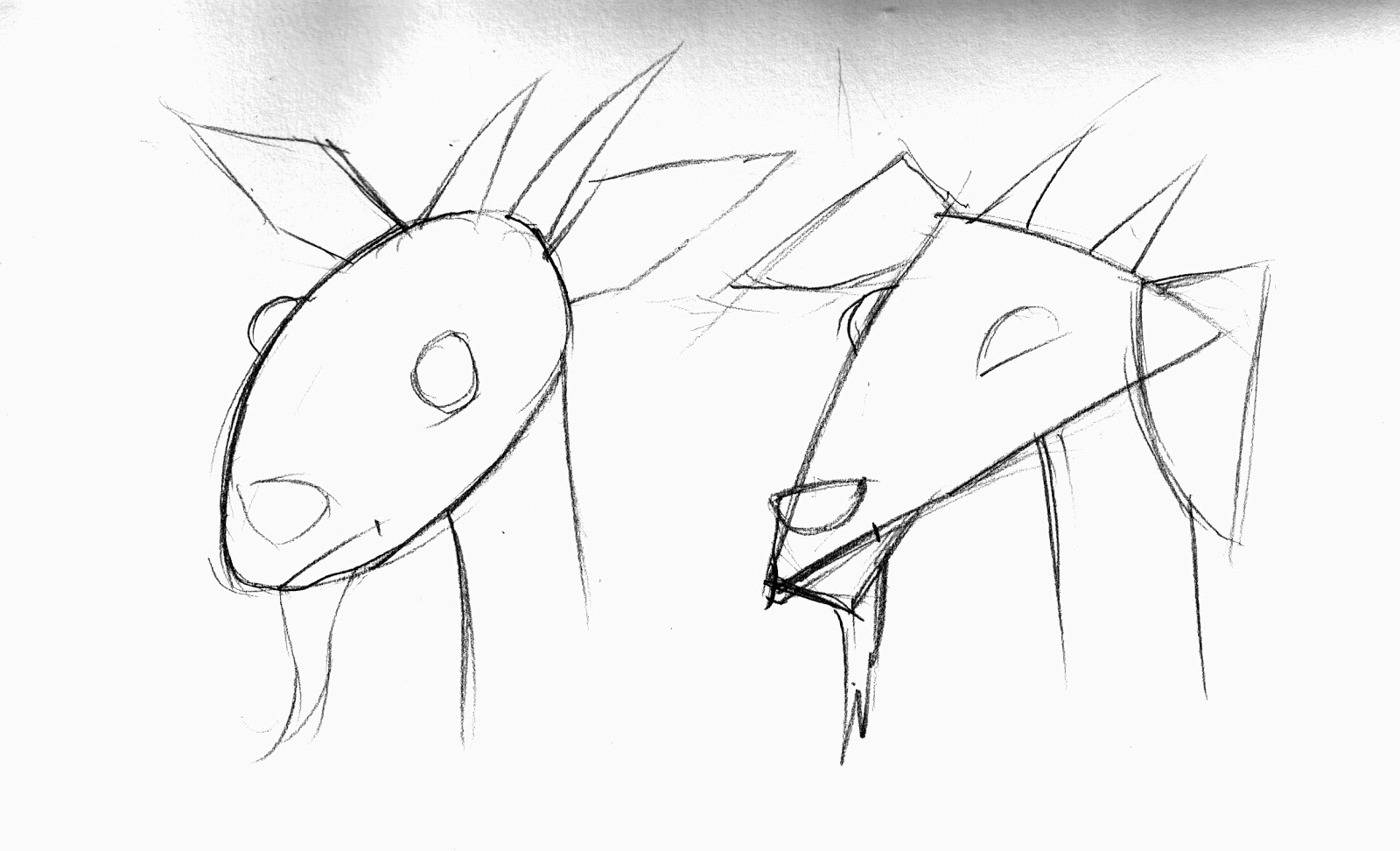 brett helquist how to draw a grumpy goat part 2