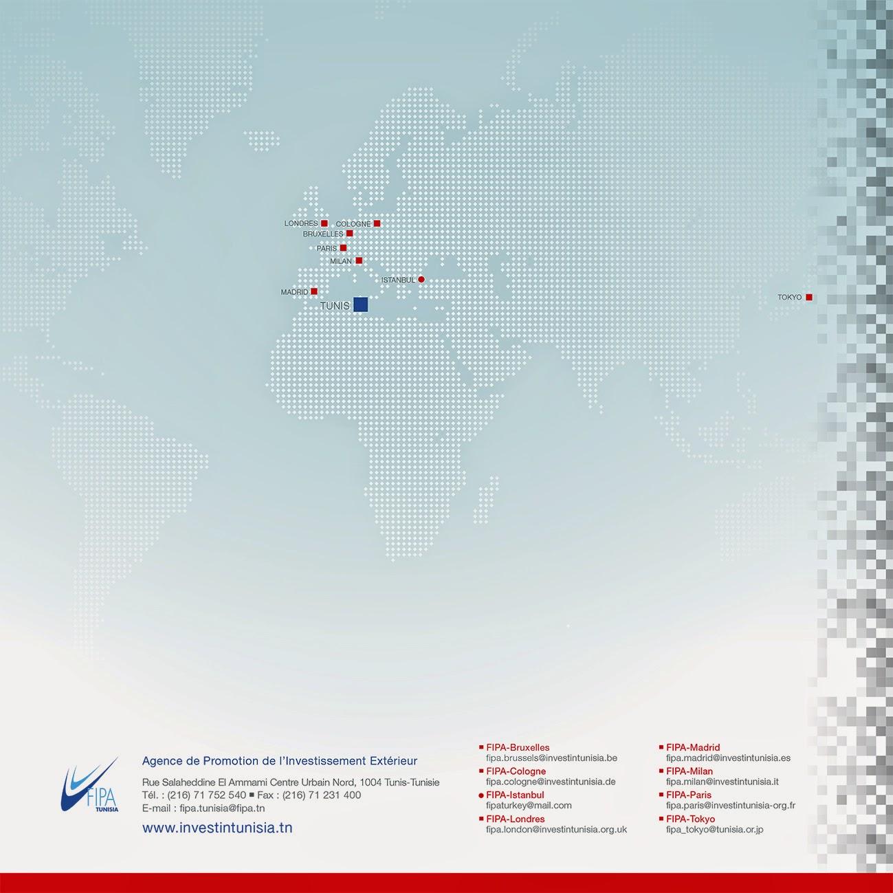 Agence de Promotion de l'Investissement Extérieur — FIPA-Tunisia