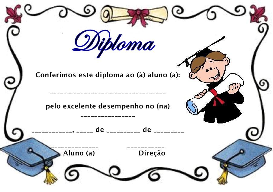 ... para ninos de primer grado diplomas de graduacion para imprimir