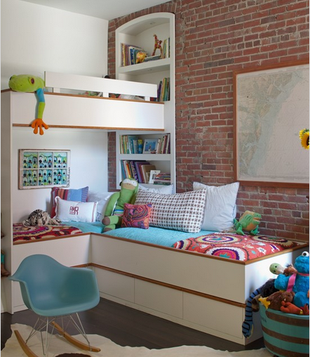 twin bed kids ideas