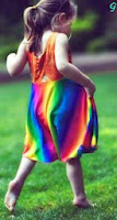 cute Pictures of kids With Colourful Dress Images