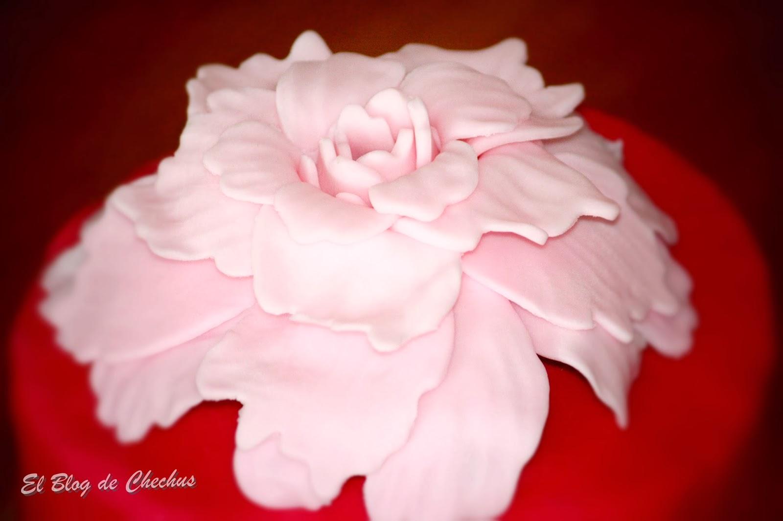 Tarta Peoni, Tartas decoradas, El Blog de Chechus, Chechus Cupcakes